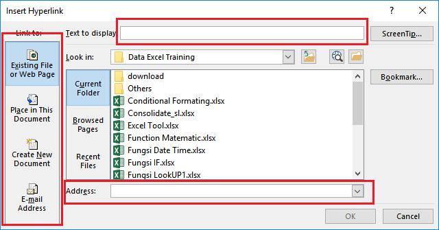 Cara Membuat Hyperlink Di Excel Belajar Microsoft Excel