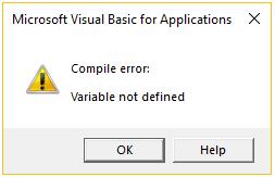 variabel tidak didefinisikan